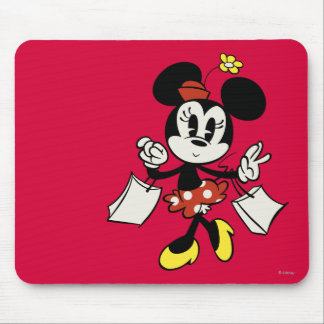 Main Mickey Shorts | Minnie Shopping Mouse Pad
