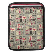 Main Mickey Shorts | Phrase Icon Pattern iPad Sleeve