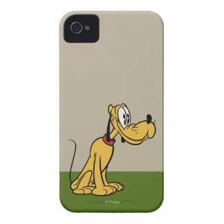 Main Mickey Shorts | Pluto Sitting iPhone 4 Case-Mate Case