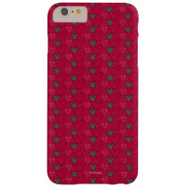Main Mickey Shorts | Red Icon Pattern Barely There iPhone 6 Plus Case