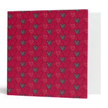 Main Mickey Shorts | Red Icon Pattern Binder
