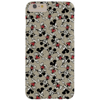 Main Mickey Shorts   Tan Icon Pattern Barely There iPhone 6 Plus Case