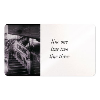 Main Ornate Stairwell D Deck Business Card