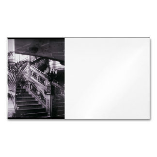 Main Ornate Stairwell D Deck Business Card Magnet