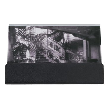 Professional Business Main Ornate Stairwell D Deck Desk Business Card Holder