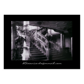 Main Ornate Stairwell D Deck Large Business Card