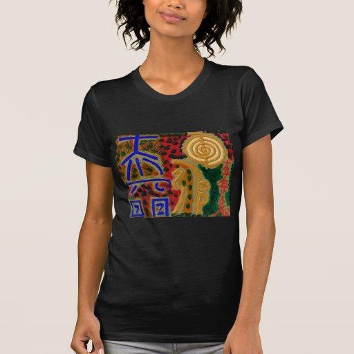 Main ReikiHealingArt Symbol T-shirts