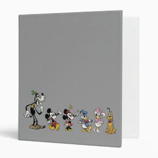 Main Shorts | Mickey & Friends 3 Ring Binder
