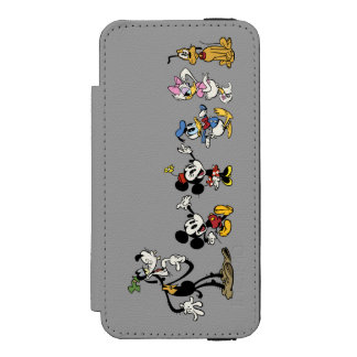 Main Shorts | Mickey & Friends iPhone SE/5/5s Wallet Case