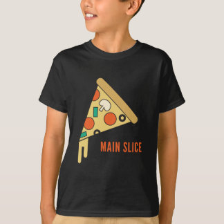 Main Slice Pizza T-Shirt