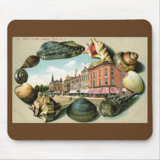 Main St., Asbury Park, New Jersey Vintage Mouse Pad