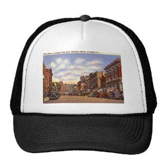 Main St., Bradford, PA Vintage Trucker Hat
