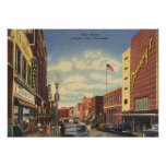 Main St., Johnson City, Tennessee Vintage Posters
