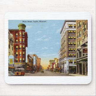 Main St., Joplin, Missouri Vintage Mouse Pad