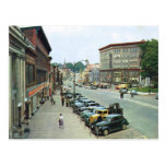 Main St., Malone, NY Vintage Postcard