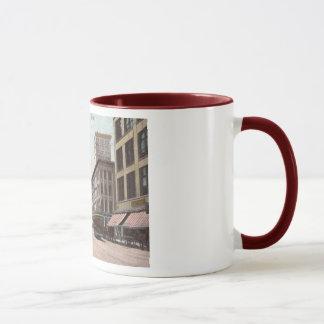 Main St., Memphis, Tennessee Vintage Mug