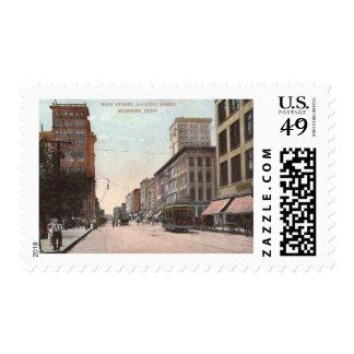 Main St., Memphis, Tennessee Vintage Postage