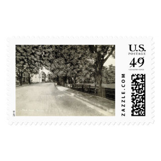 Main St., Netcong, New Jersey Vintage Postage
