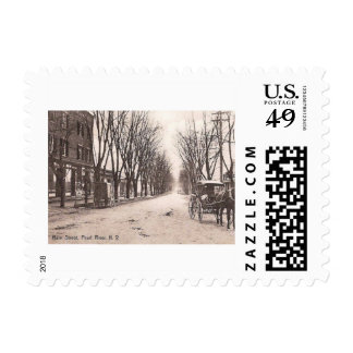 Main St., Pearl River, New York Vintage Postage