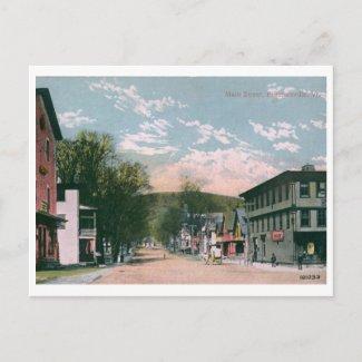Main St., Proctorsville, VT 1919 Vintaged postcard