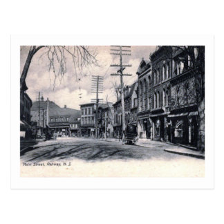 Main St., Rahway, New Jersey Vintage Postcard