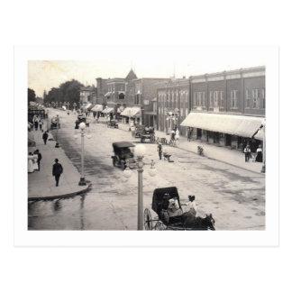 Main St., Rahway,  NJ Vintage Postcard
