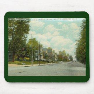 Main St. S. Amboy, NJ 1909 Vintage mousepad