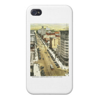 Main St., Salt Lake City Vintage iPhone 4 Cover
