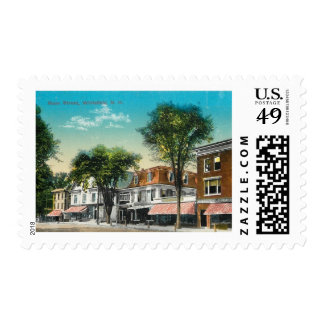 Main St., Whitefield, New Hampshire Vintage Postage