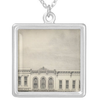 Main St Woodland 2 Silver Plated Necklace