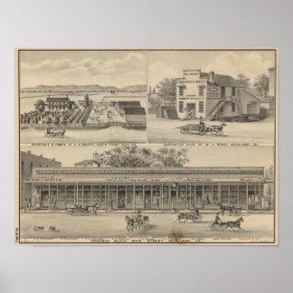 Main St Woodland Print