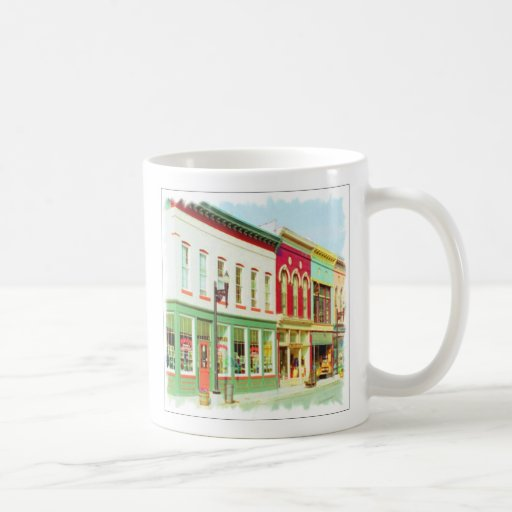 Main Street #13, Frankfort, Kentucky, U.S.A. Coffee Mug