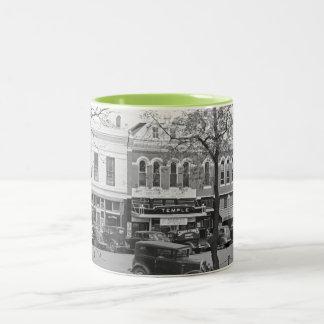 Main Street, America Two-Tone Coffee Mug