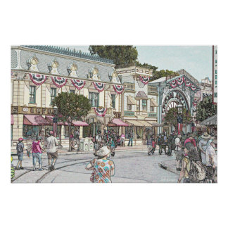 Main street, AnyTown, USA Poster