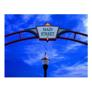 Main Street Arch Postcard