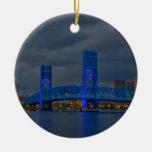 main street bridge Jacksonville FL Ornament