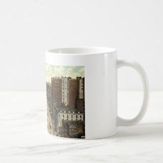 Main Street, Buffalo NY 1912 Vintage Coffee Mug