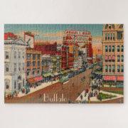 Main Street - Buffalo, NY Large Puzzle