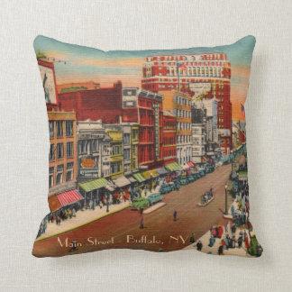 Main Street Buffalo, NY Pillow