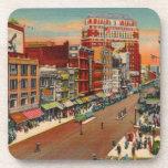 Main Street - Buffalo, NY Vintage Beverage Coasters