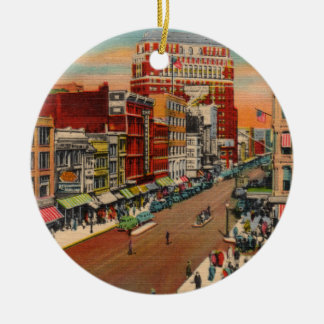 Main Street - Buffalo, NY Vintage Ornament