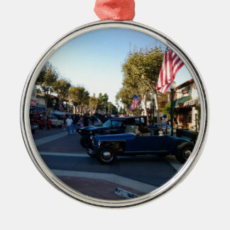 Main Street Classic Car Show in Garden Grove Metal Ornament
