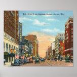 Main Street, Dayton, Ohio Vintage Posters