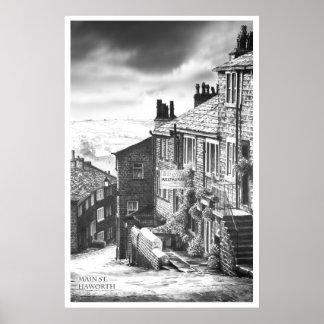 Main Street, Haworth Poster
