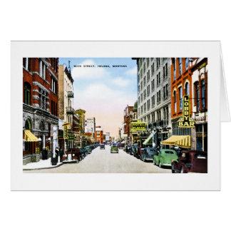 Main Street, Helena, Montana Greeting Card