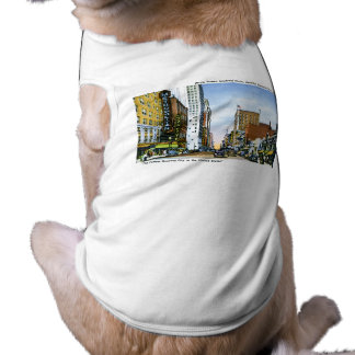 Main Street, Houston, Texas Doggie T-shirt