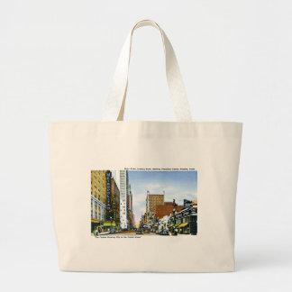 Main Street, Houston, Texas Large Tote Bag