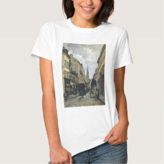 Main Street in Argenteuil by Alfred Sisley Shirt