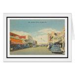Main Street in Sarasota, Florida Card