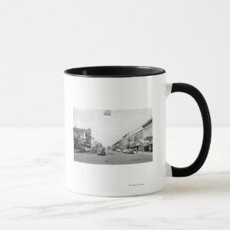 Main Street in Walla Walla, WA Photograph Mug